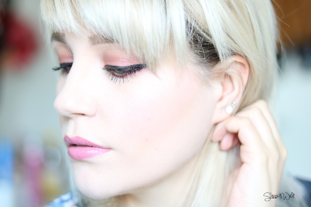 Berrisom OOPS! Tint Cheek Cushion - Sugar Pink Make Up Look Review Test Anwendung