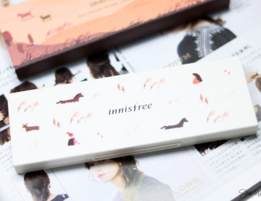Innisfree Jeju Color Picker Shadow Kit No. 2 Swatches Beauty Blog Korean