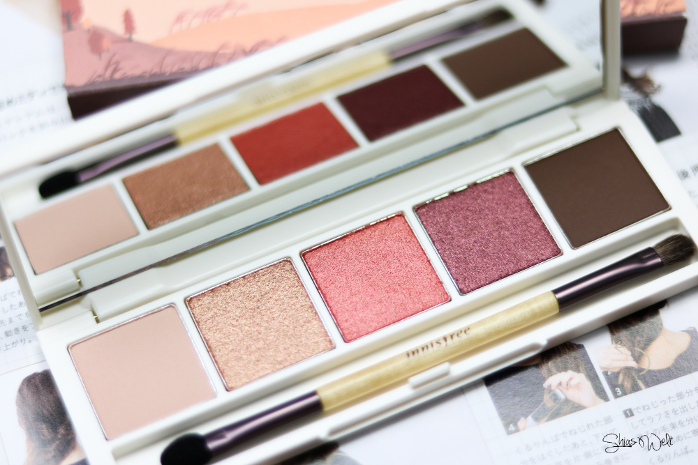 Innisfree Jeju Color Picker Shadow Kit No. 2 Must Have Review Shias Welt