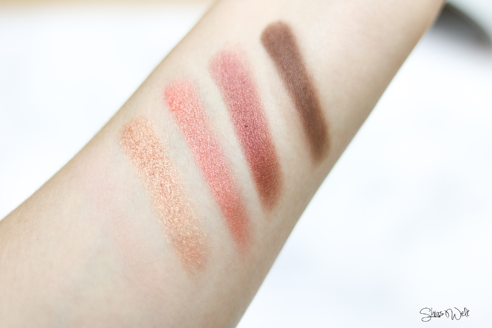 Innisfree Jeju Color Picker Shadow Kit No. 2 Swatches Swatch Shias Welt Test Review