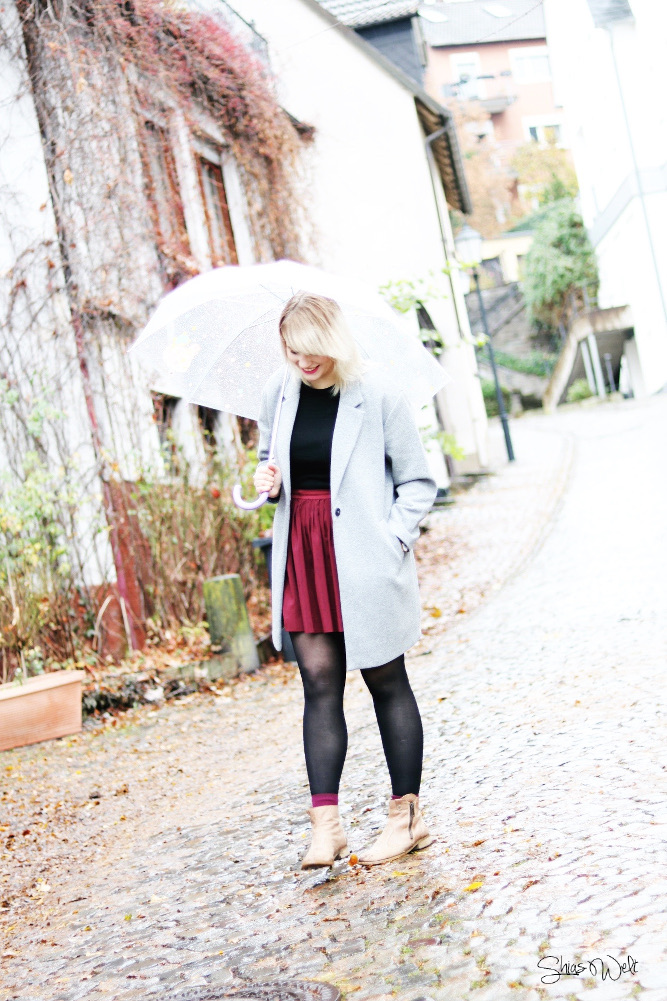 Mantel Herbst Outfit Selected Femme About You Shias Welt Fashion Blogger Online Shop