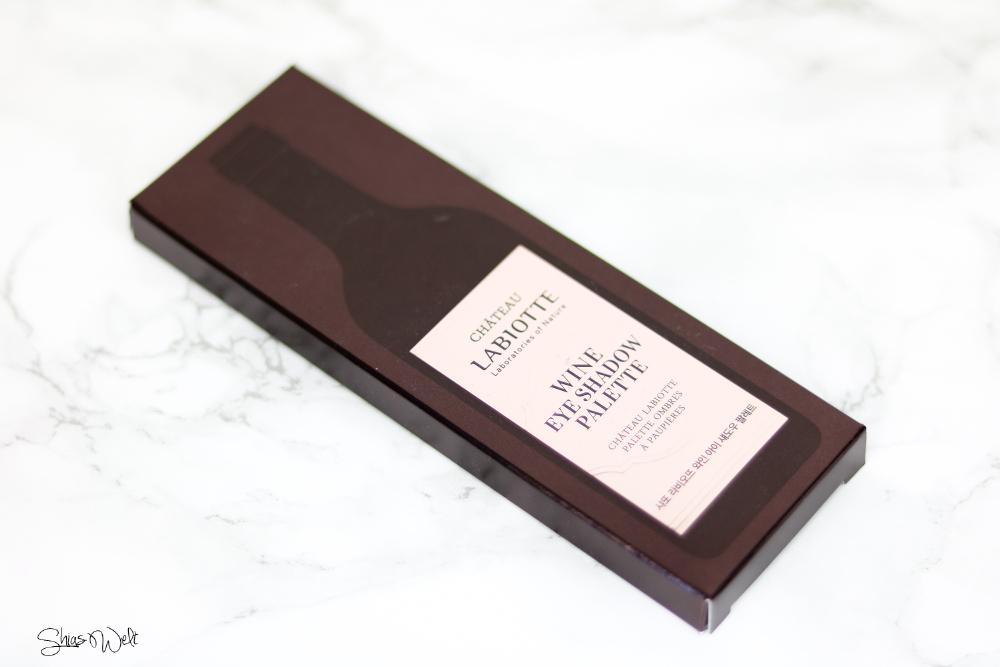 CHATEAU LABIOTTE WINE EYE SHADOW PALLETE 02 SWEET WINE Korean Beauty Tony Moly Swatch Review