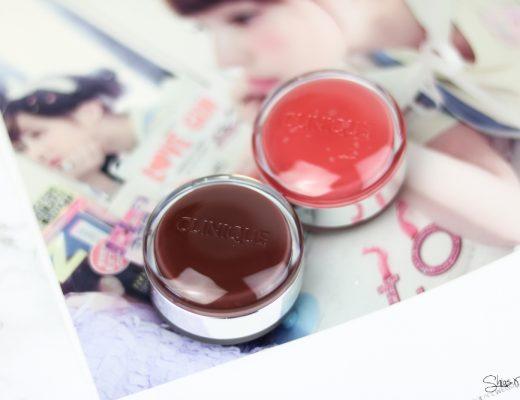 Clinique Sweet Pots Sugar Scrub & Lip Balm Black Honey Sweet Rose Review Swatches Review Shias Welt