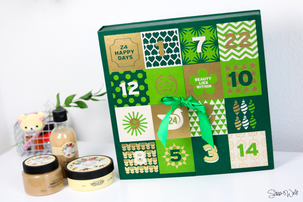The Body Shop Adventskalender + Gewinnspiel