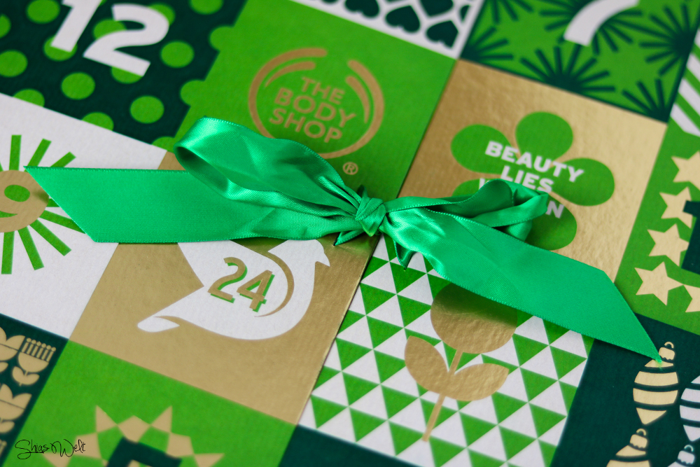 The Body Shop Adventskalender + Gewinnspiel Inhalt Review