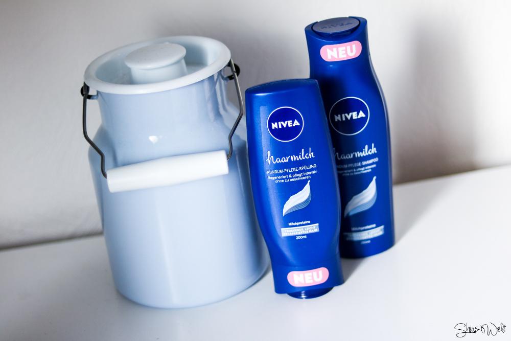 Dinge die mich rundum glücklich machen - Nivea Haarmilch Rundum Pflege Gewinnspiel Review Shampoo Spülung Test