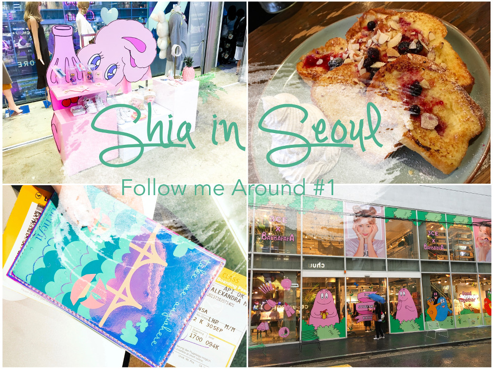 Shias Welt Shia in Seoul Vlog Follow me Around Seoul Korea Style Nanda Chuu