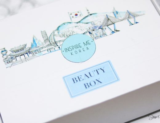 Inspire Me Korea CLEANSE ME BEAUTY BOX Review Test