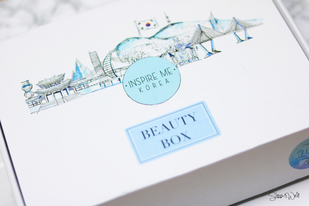 Inspire Me Korea CLEANSE ME BEAUTY BOX Review Test