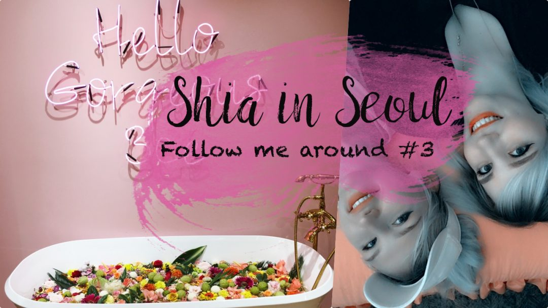Shias Welt Follow Me around Shopping Myeongdong Style Nanda Pink Hotel