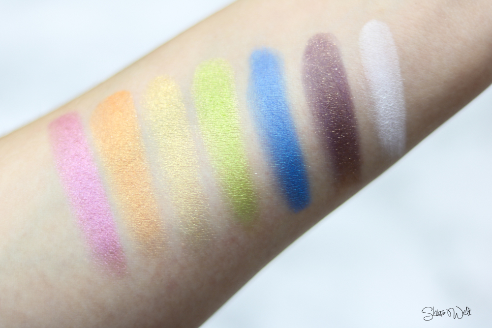 Urban Decay Full Spectrum Palette Review Swatches Swatch Test Anwendung Tipps