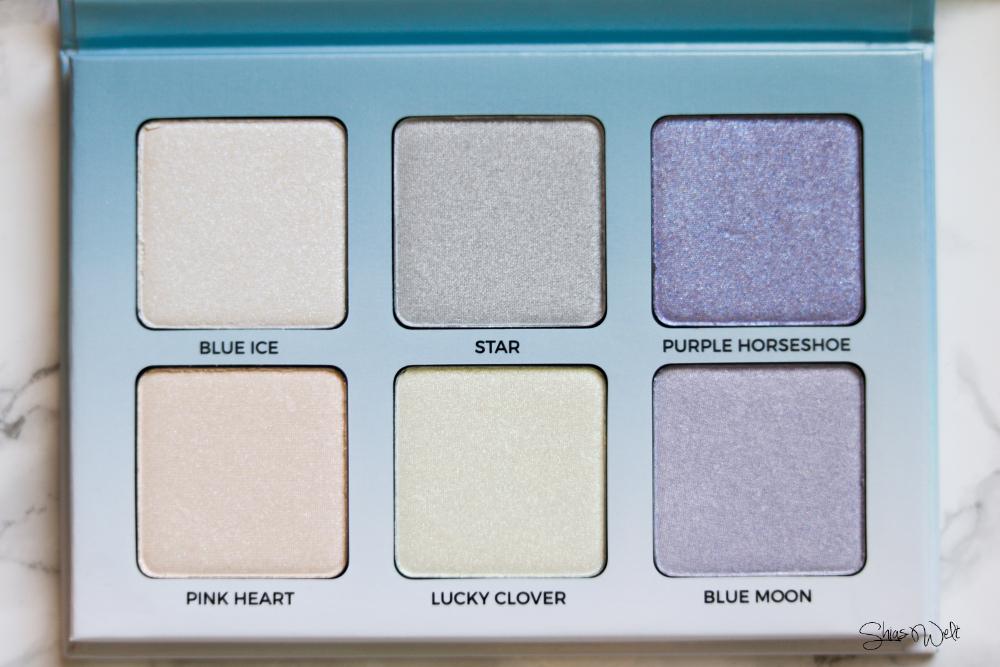Anastasia Beverly Hills Moonchild Highlighter Palette - ein Must Have Review Anwendung Swatches Swatch Übersicht Online Shop