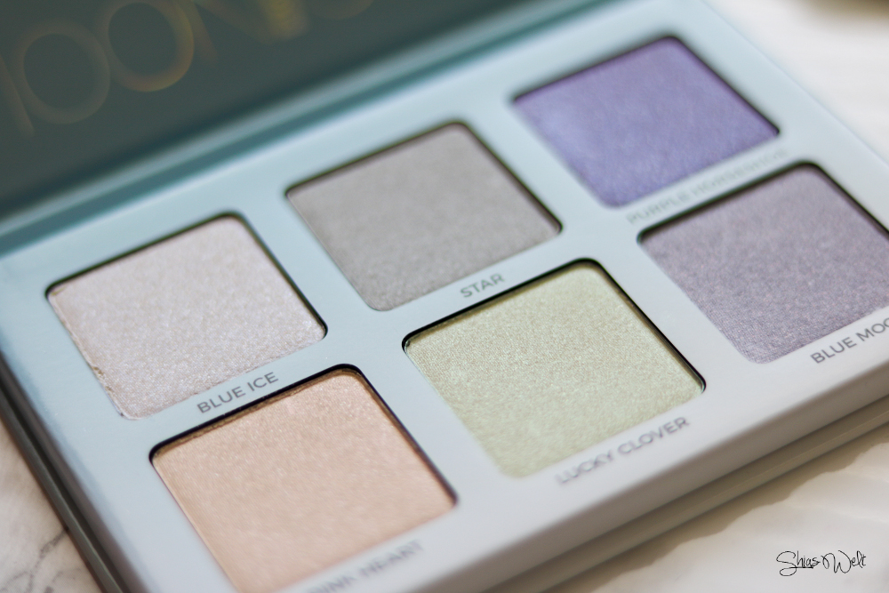 Anastasia Beverly Hills Moonchild Highlighter Palette - ein Must Have Review Anwendung Swatches Swatch Beauty Blog
