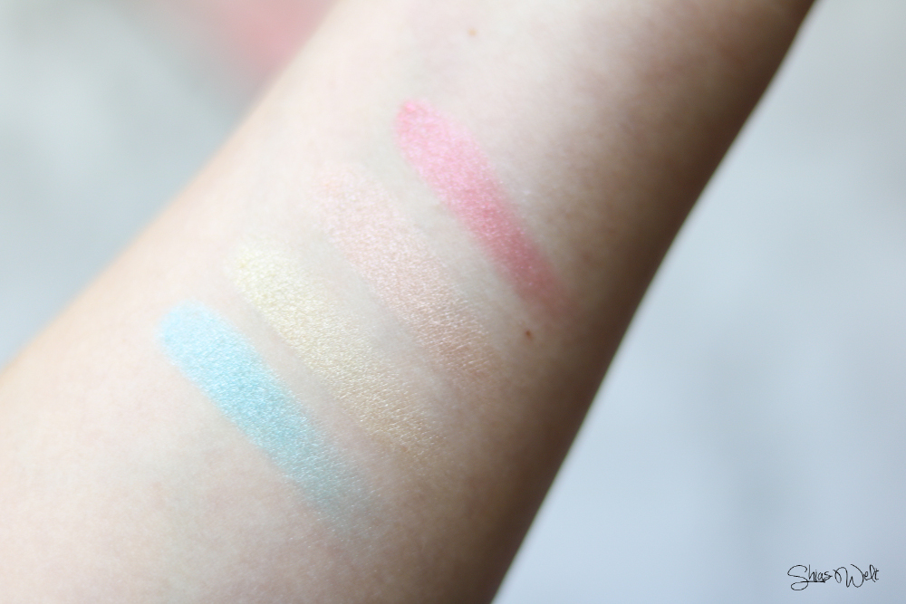Essence Prismatic Rainbow Glow Highlighter Swatches Review Swatch Look Make Up