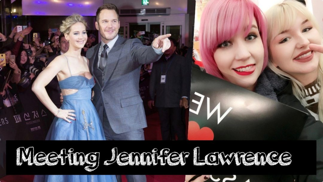Meeting Jennifer Lawrence Blog Shias Welt Passengers Red Carpet