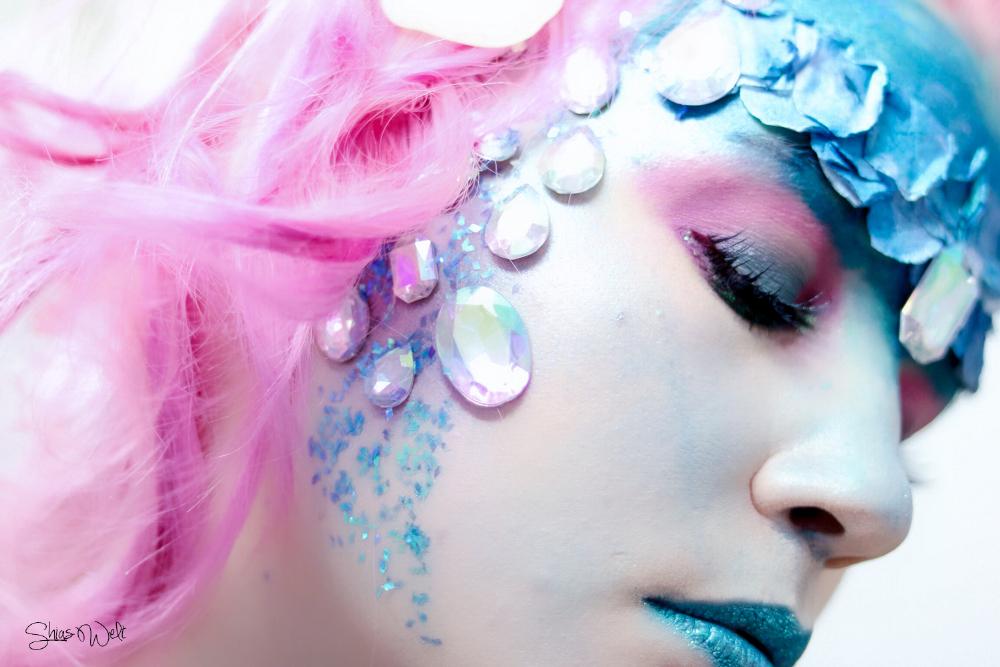 karneval make up werde zur meerjungfrau mit tempo shia 39 s welt. Black Bedroom Furniture Sets. Home Design Ideas
