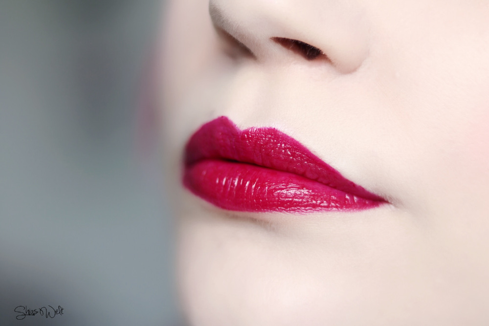 Etude House Lip Rich Vivid Tint Review + Look Make Up Shias Welt
