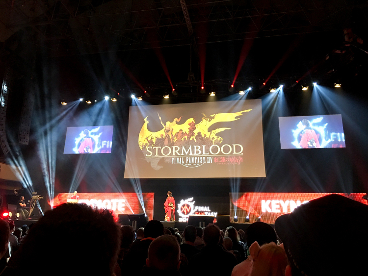 Stormblood Final Fantasy Fan Festival 2017 - Frankfurt