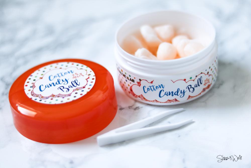 ALIVE:LAB Cotton Candy Ball - AHA & BHA How to Use Anwendung Test