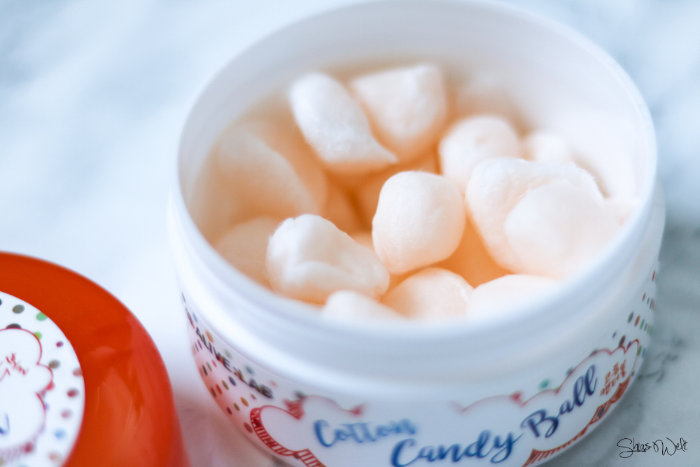 ALIVE:LAB Cotton Candy Ball - AHA & BHA Balls