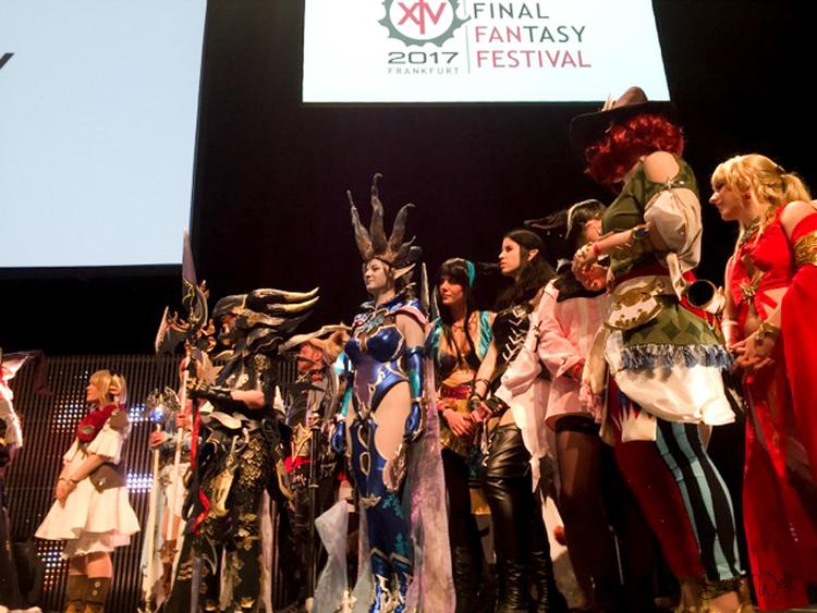 Final Fantasy Fan Festival 2017 - Frankfurt Cosplay Contest