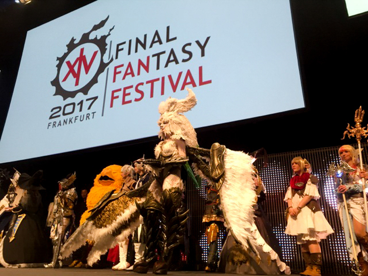 Final Fantasy Fan Festival 2017 - Frankfurt Cosplay contest Winner