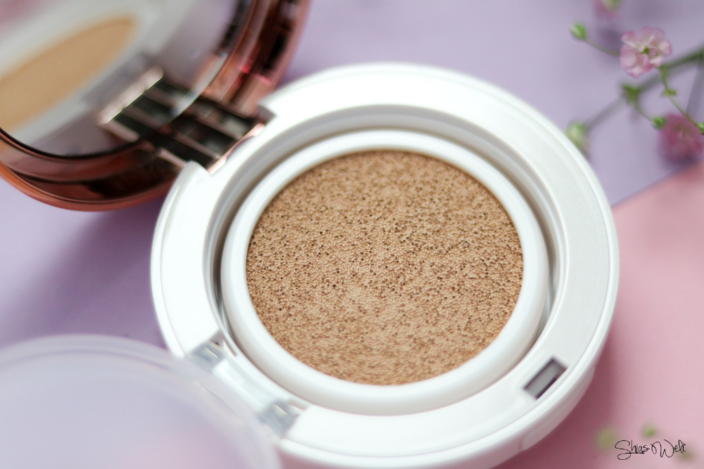 Shangpree Luminous Cover Cushion Compact Review Test Erfahrung Korean Beauty Best Cushion