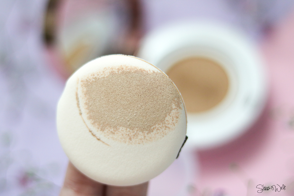 Shangpree Luminous Cover Cushion Compact Review Test Erfahrung Korean Beauty Best Cushion Make Up
