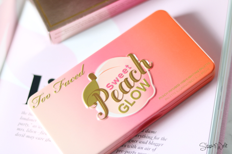 Too Faced - Sweet Peach Glow Highlighting Palette