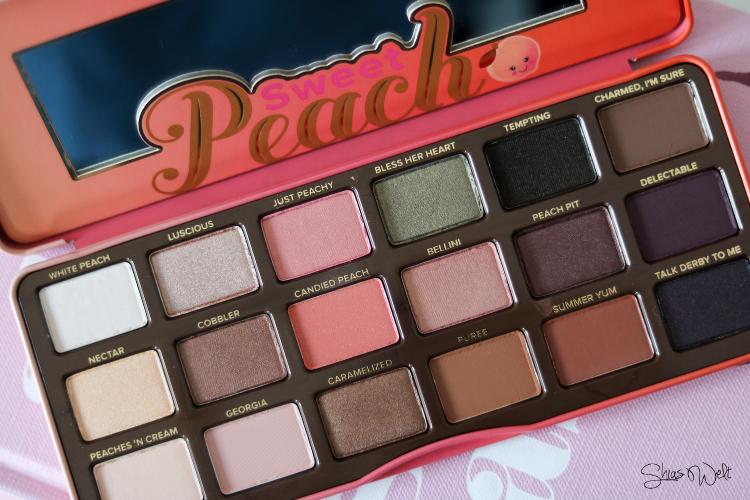 Too Faced - Sweet Peach Palette + Look