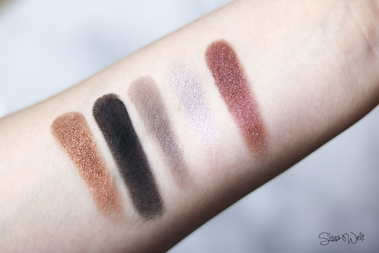 Urban Decay - Distortion Swatches & Review