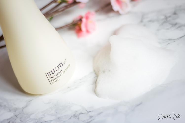 su:m 37 - Skin Saver Essential Cleansing Foam - 2. Step der koreanischen Pflegeroutine
