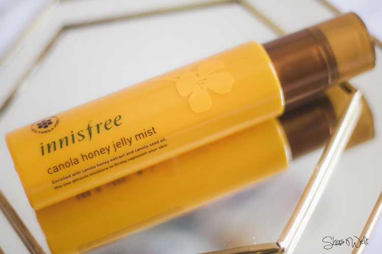 Erholung der Haut an heißen Tagen - Innisfree - Canola Honey Jelly Mist