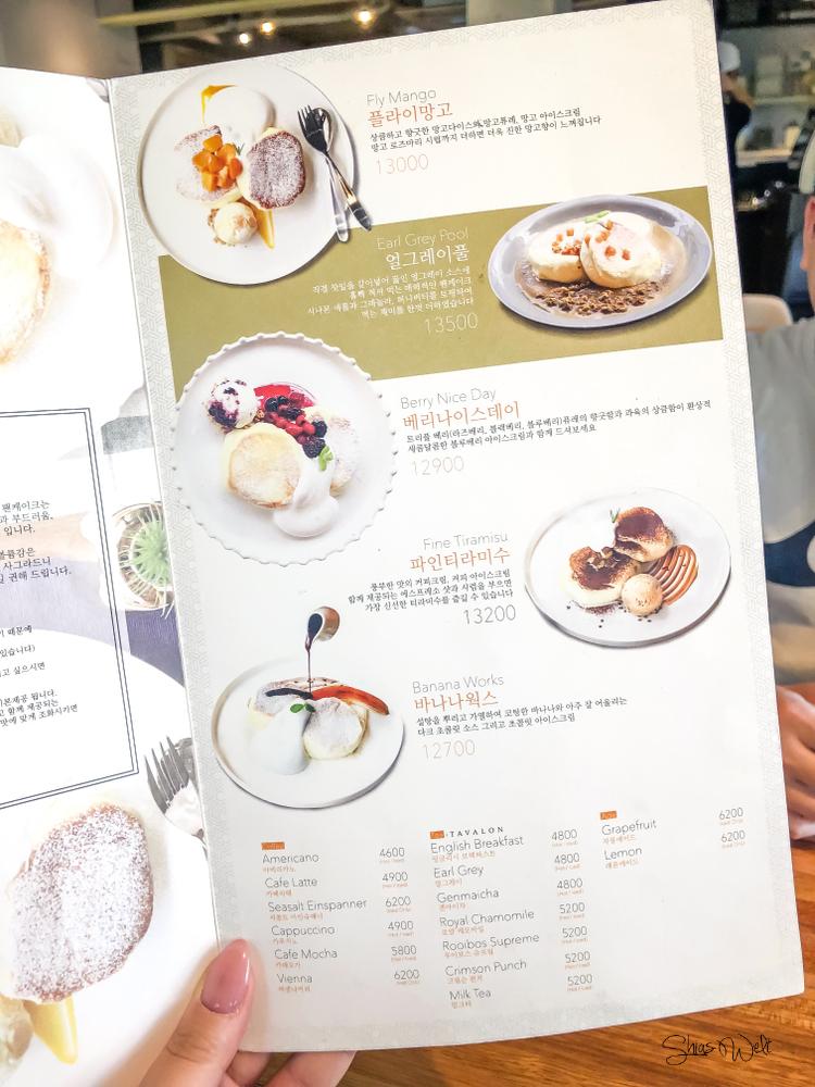 Fluffy Pancakes in Seoul - Paulin Pancakes Hongdae